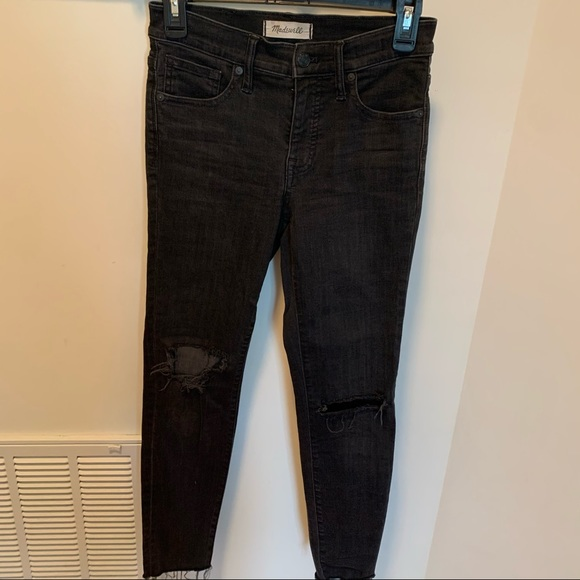 Madewell Jeans 9 Inch High Rise Skinny Denim Jeans